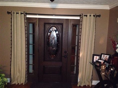 Curtains Over Front Doors