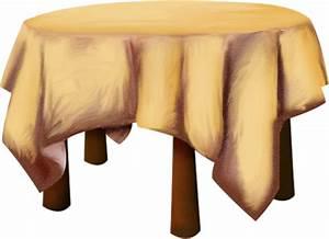 Nappe De Table Ronde : nappe sur table ronde dessin ~ Teatrodelosmanantiales.com Idées de Décoration