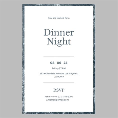 14+ Formal Dinner Invitations PSD Word AI Publisher