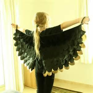 Black Crow Wings Costume