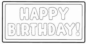 6 Best Images of Black And White Happy Birthday Printables ...