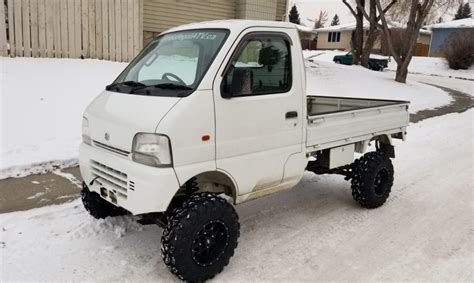 1999 Efi Suzuki Carry Diff Lock 4
