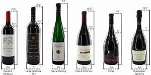 Do all wine racks hold all different bottle sizes wine for Beer bottle label size