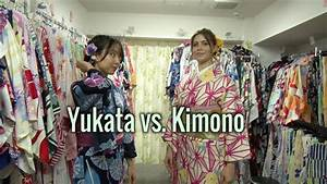 How to Differentiate Between a Yukata and a Kimono【Moving ...