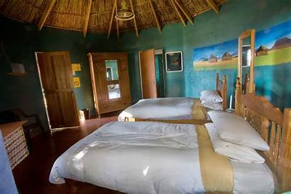 Rondavels Rondavel Inside Rooms Malealea Thatched Lodge