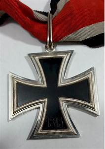GERMAN KNIGHTS CROSS TO THE IRON CROSS WITH RIBBON Marked L/19  Cross