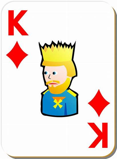 Playing Card King Clipart Diamonds Deck Cards