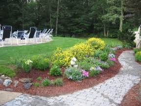 pin simple flower bed boarders on