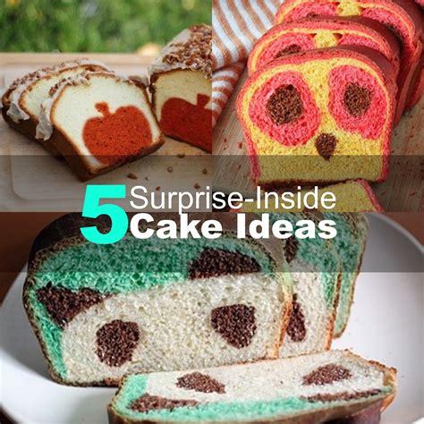 surprise  cake ideas