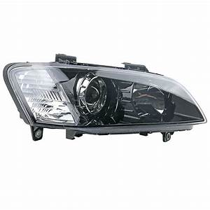 Front Right Hand Side Black Headlight Lamp For Holden