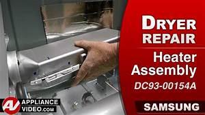 Samsung Dryer  U2013 He Error Code  U2013 Heater Assembly Repair
