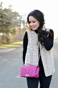 Faux Fur + Pink | Easy Outfit Idea - The Double Take Girls
