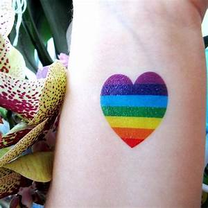 45 Rainbow Tattoos | Tattoofanblog