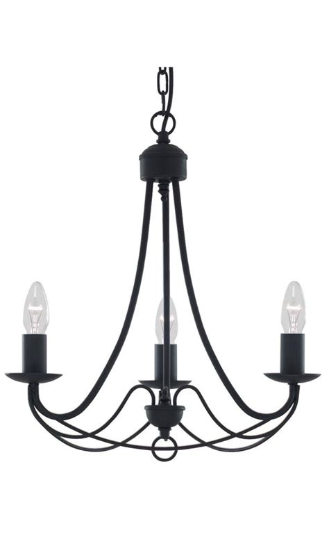 traditional wrought iron pendant lighting fixture in matt