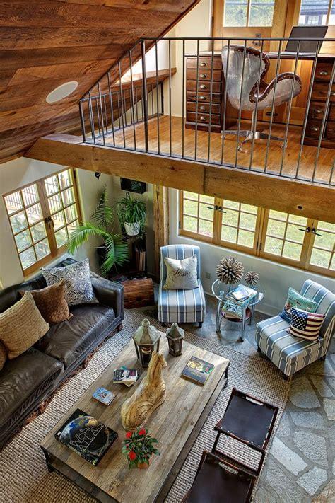 great room living area  loft office area
