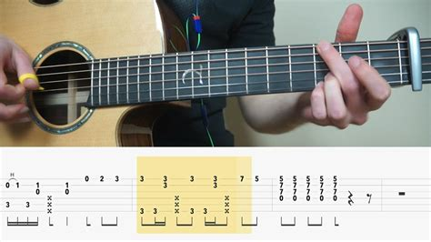 guitar tabs alone alan walker fingerstyle tutorial lesson