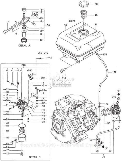 robin subaru eh36 parts diagram for tank carburetor