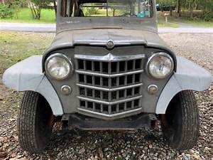1950 Willys Wagon Orignal Barn Find Rat Hot Rod Classic