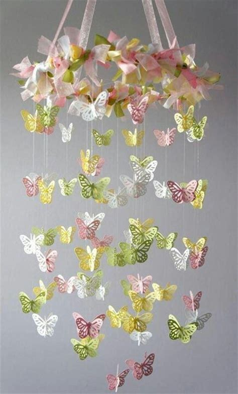 movil de mariposas butterfly flower pinterest
