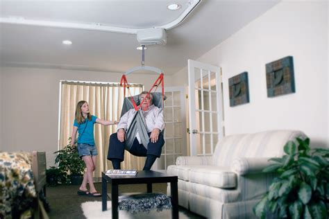 overhead shower lift and care systems surehands