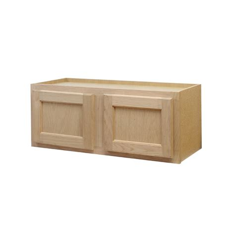 lowes unfinished wall cabinets shop continental cabinets inc 30 in w x 12 in h x 12 in