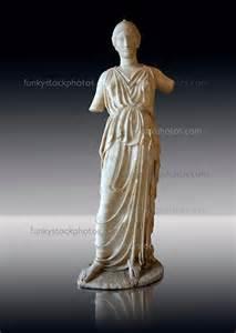 Athena Greek Goddess Statue Marble