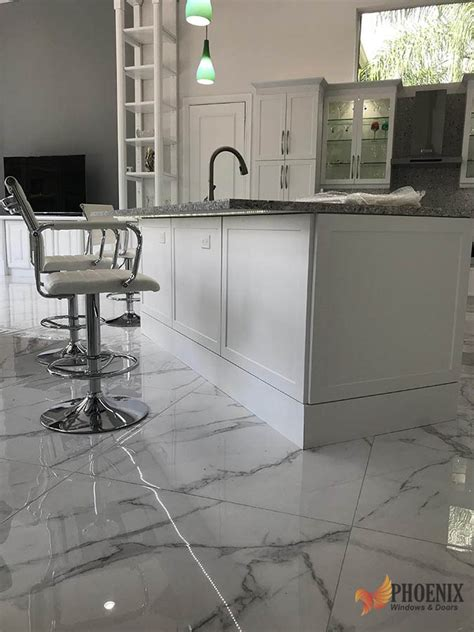 kitchen remodeling gray white marble floors pwd phoenix