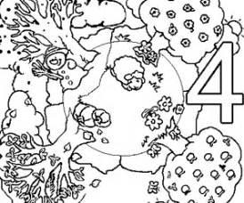dessins de coloriage saisons  imprimer
