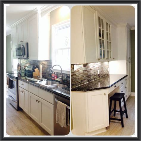 glass kitchen countertops hgtv my hgtv kitchen with bright white cabinets butterfly