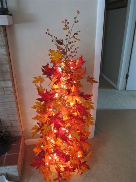 25 best ideas about fall christmas tree on pinterest