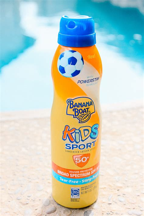 Banana Boat Sunscreen For Swimming by 5 Outdoor Activities For The Family Healthy Sunscreen