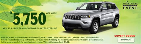 Our various teams are trained to. New & Used Car Dealer in Austin | Covert Chrysler Dodge Jeep