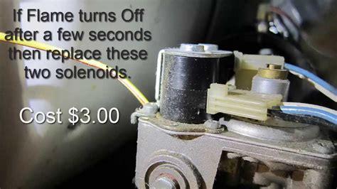 gas dryer won t heat easy repair