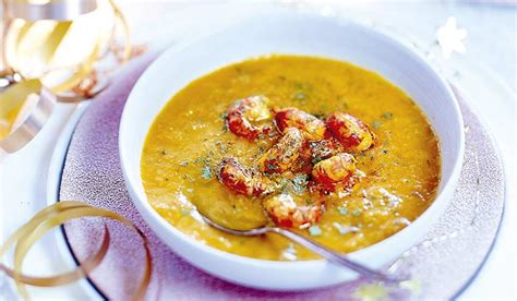 cuisiner des ecrevisses recette crème de légumes d hiver au safran et aux