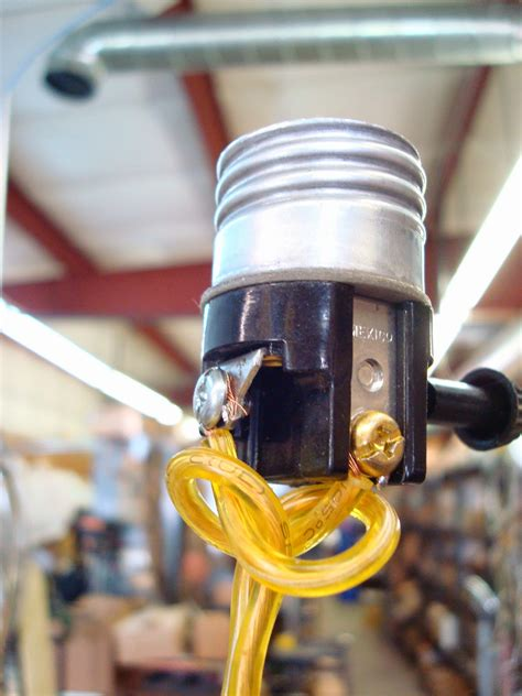 Wire A Lamp Socket by Lamp Parts And Repair Lamp Doctor Repair Tips