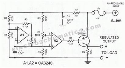 Regulator Dc Circuit Voltage Schematic Diagram Regulators