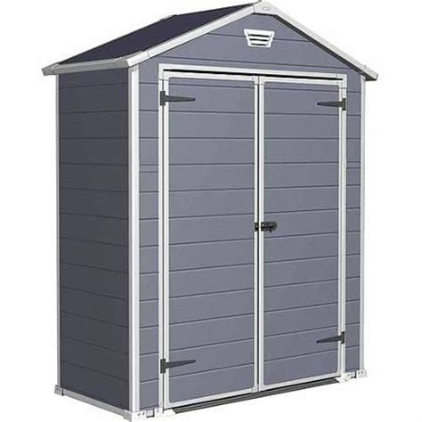 keter stronghold shed keter manor stronghold large 6 x 3 ft resin outdoor