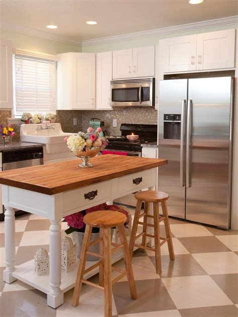 tiny kitchen island small kitchen island ideas pictures tips from hgtv hgtv 2846