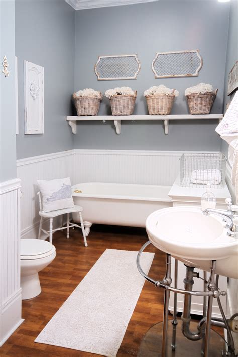 Modern Country Bathroom Decor Before And After Small Bathroom Makeovers Big On Style
