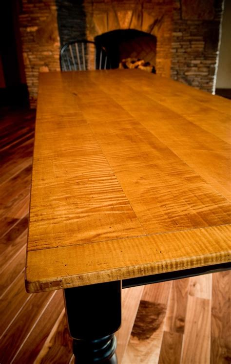 The pricing difference is enough that i am not sure if its worth spending the extra $ on maple plywood for the boxes. Buy a Custom 10' Tiger Maple Dining Table, made to order ...