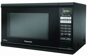 Panasonic Countertop Microwave With Inverter Technology  1 2 Cu  Ft   Black