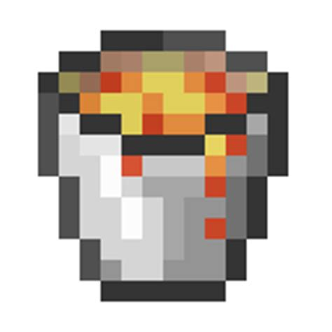 how to dispose of a lava l lava bucket minecraft guides