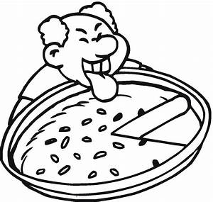 Cheese Pizza Coloring Page | Clipart Panda - Free Clipart ...