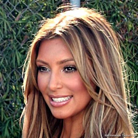 A Blonde Kim Kardashian? New Mom Rocks a New Look