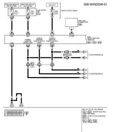 i need a wiring diagram for the passenger window switch module