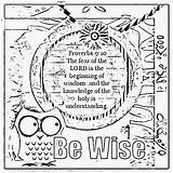 Coloring Wisdom Pages Sheets Bible Verse Treasure Gems Children Printable Proverbs Adult Mining Activity Colouring Childrens Lord Verses Gold Box sketch template