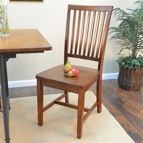 Cottage Chairs by Carolina Cottage Hudson Chestnut Wood Dining Chair 1c350