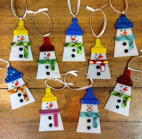 fused glass christmas ornaments google search