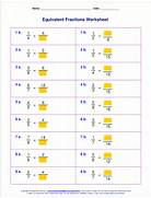 Equivalent Fractions Worksheet Grade 4 Pics Photos Equivalent Fractions 2 A Math Fraction Worksheet For 4th