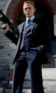 Shop for James Bond Casino Royale Suit. Tailored-Fit Blue ...